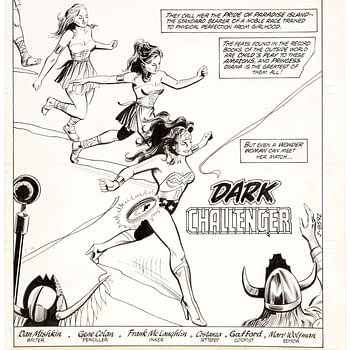 Gene Colan Wonder Woman Original Art Going For A Song At Auction