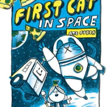 Mac's Book Club Show Gets Graphic Novel, First Cat In Space Ate Pizza