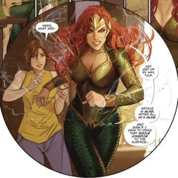 Amanda Heard's Mera For Aquaman 2 Bases On Stjepan Šejić Design