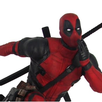 Deadpool Gets New Walmart Exclusive Diamond Select Statue