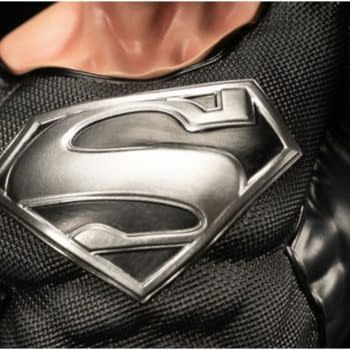 Superman Is Back From the Dead With Black Suit XM Studios Statue