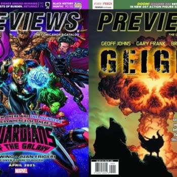 Guardians Of The Galaxy And Geiger On Covers Of Next Week's Previews