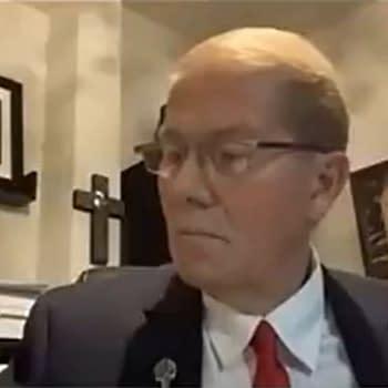 QAnon Mayor Of Sequim, Washington, Wears Punisher Skull