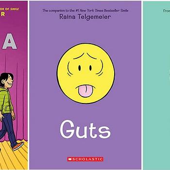 Raina Telgemeier Topped NYT Graphic Novel Bestseller Lists For 2020