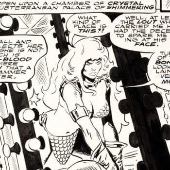 Frank Thorne Red Sonja #2 Story Page 7 Original Art (Marvel, 1977)
