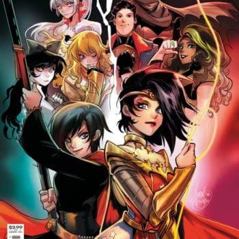 Remnant Batman, Superman, Wonder Woman in RWBY/Justice League