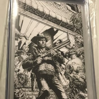 The Walking Dead Deluxe #1 Variant Sells for $285