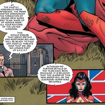 How Brexit Affects Marvel Comics Today In The Union #2