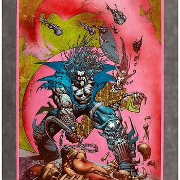 Simon Bisley Fully-Painted Lobo Cover Currently Just $6000 On Auction