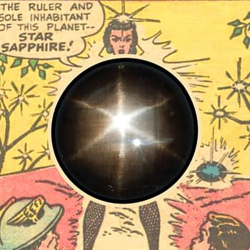 The Completely Obvious Inspiration for DC Comics Star Sapphire in 1947