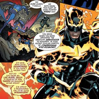 USA Imposes Tariffs On Socialist Terrorist Wakanda in Avengers #41
