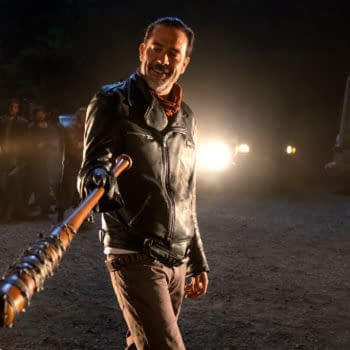 The Walking Dead star Jeffrey Dean Morgan knows what should happen to Trump. (Image: AMC)
