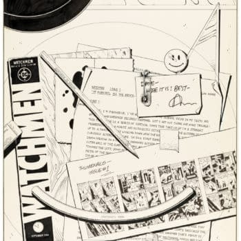 Dave Gibbons' Forgotten Watchmen Cover, Up For Auction