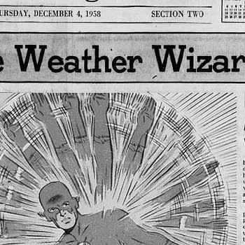 Weaponizing the Weather in 1959s Flash #110 from DC Comics