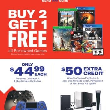 Gamestop Holding Annual President's Day Sale February 13th-15th