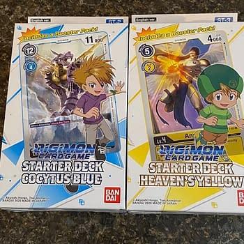 Digimon Card Games Starter Decks: A Digi-Delight
