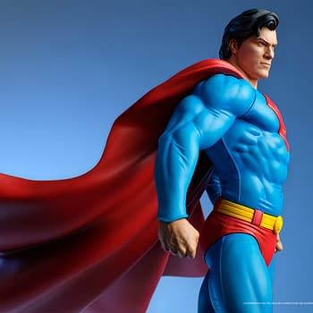 Superman Gets New Heroic DC Comics Statue From Tweeterhead