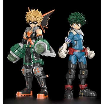 My Hero Academia Gets Two Moderoid Plastic Kits From Good Smile