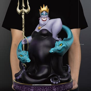The Little Mermaid Ursula Rises From the Deep with Beast Kingdom