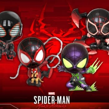 Miles Morales Spider-Man Gets New Suits With Hot Toys Cosbaby