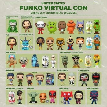 Funko Unveils Shared Retailers List For Emerald City Comic Con