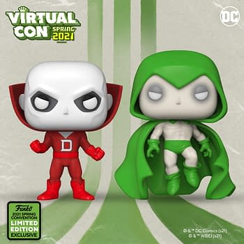 Funko Ends ECCC Reveals With Three New DC Comics Pops
