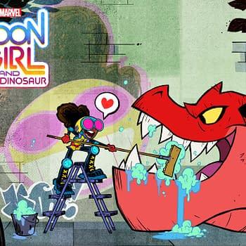Marvels Moon Girl and Devil Dinosaur Announces Cast Key Art Released
