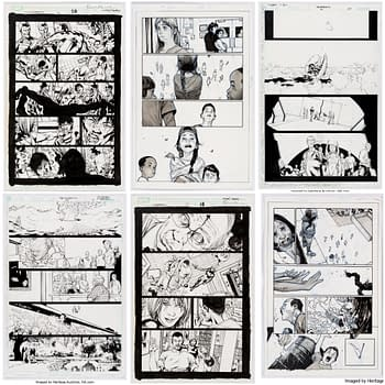 Bryan Hitch Olivier Coipel Frank Quitely &#038 Mark Millar Original Art