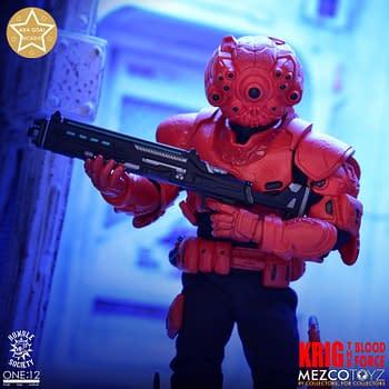 Mezco Toyz Unleashes The Krig As Their Newest Original One: 12 Figure