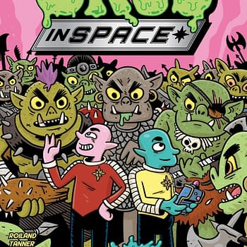 Orcs In Space: The New Comic From Rick &#038 Morty Creator Justin Roiland