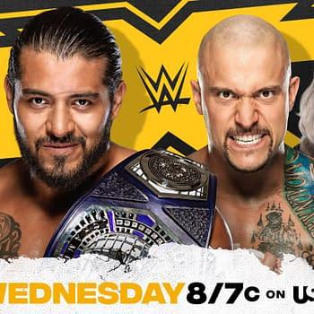 NXT Preview: Lumis vs. Gargano Death of Santos Escobar More