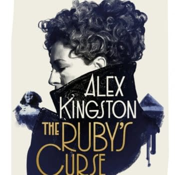 """Doctor Who: Alex Kingston Pens River Song Novel """"The Ruby's Curse"""""""