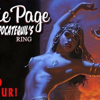 Stephen Mooneys Bettie Page: Tomb Raider Comic With Greg Hildebrandt