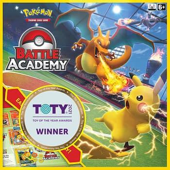 Pokémon TCG Battle Academy Wins TOTY Game Of The Year Award