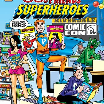 Archie &#038 Friends: Superheroes in Archie Comics May 2021 Solicits