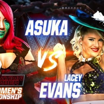 At WWE Elimination Chamber, Asuka will defend her Raw Women's Championship against Lacey Evans