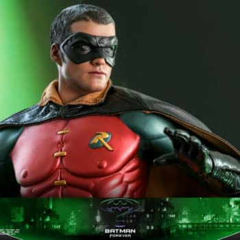 Batman Forever Robin Joins the Team With New Hot Toys Figure
