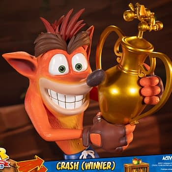 Crash Bandicoot Takes First Place With New First 4 Figures Statue