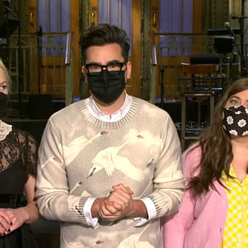 Saturday Night Live Promo: Dan Levys Commitment Inspires Aidy Bryant