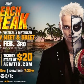 Darby Allin will engage in his riskiest stunt yet when he meets with the hoi polloi before tonight's AEW Dynamite