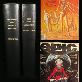Denny O'Neil's Personally Bound Copies Of Epic Illustrated On Auction