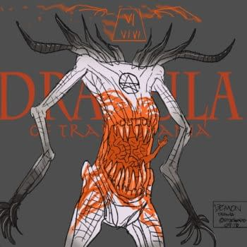 Ricardo Delgado Illustrates Bram Stoker's Dracula, Anew