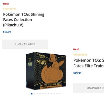 Pokémon TCG Shining Fates Pre-Orders Immediately Sell Out