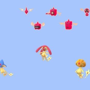 Tonight is Shiny Luvdisc Spotlight Hour in Pokémon GO