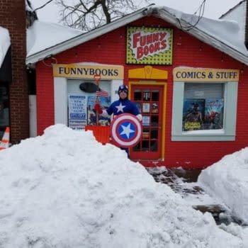 Comic Book Folk React To… Snow
