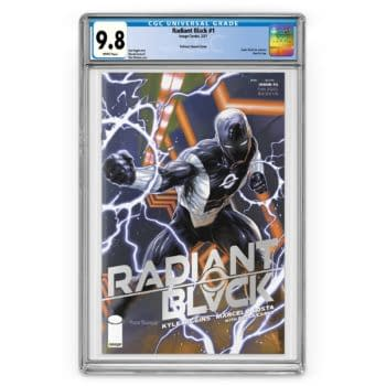 How Fast Will The Comics Vault Live Variant to Image's Radiant Black #1 Hit $150?