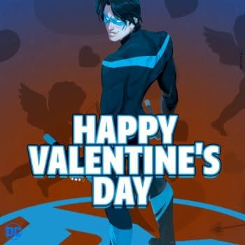 DC Posts Thirst Trap For Nightwing For Valentine's Day
