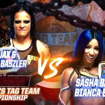 Sasha & Bianca Could Not Get It Together to Win at Elimination Chamber