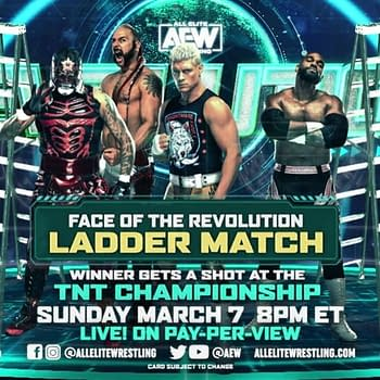 Heres the Updated Card for AEW Revolution on March 7th