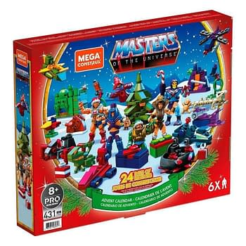 Masters Of The Universe Mega Construx Advent Calendar Coming